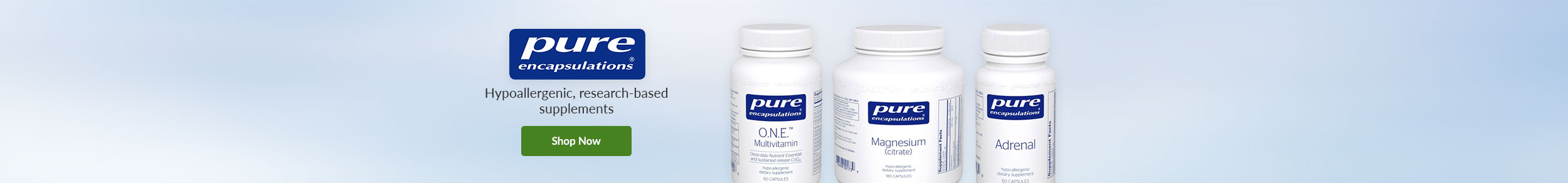 Pure Encapsulations - Hypoallergenic, research-based supplements