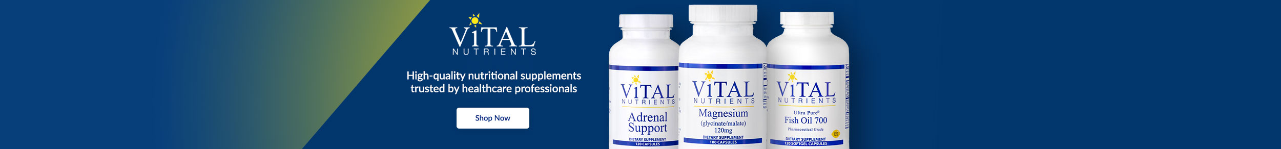 Vital Nutrients - Laboratory-tested formulas for maximum potency
