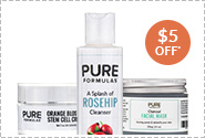 PureFormulas' 3 Step Glowing Skin Kit
