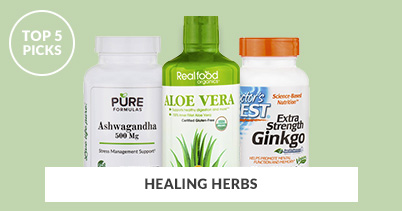 Top 5 Picks - Healing Herbs