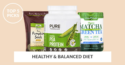 Top 5 Picks For A Healthy And Balanced Diet