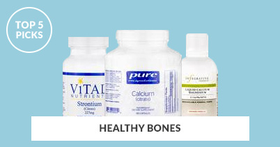 Top 5 Picks For Healthy Bones