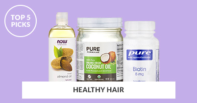 Top 5 Picks For Healthy Hair