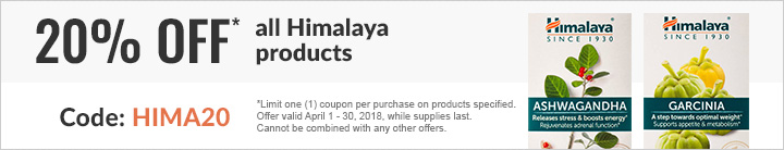 20% OFF ALL HIMALAYA