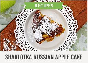 300x213 - Generic - Recipes - Sharlotka Russian Apple Cake - 031416