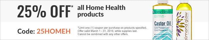 25% OFF ALL HOME HEALTH PRODUCTS