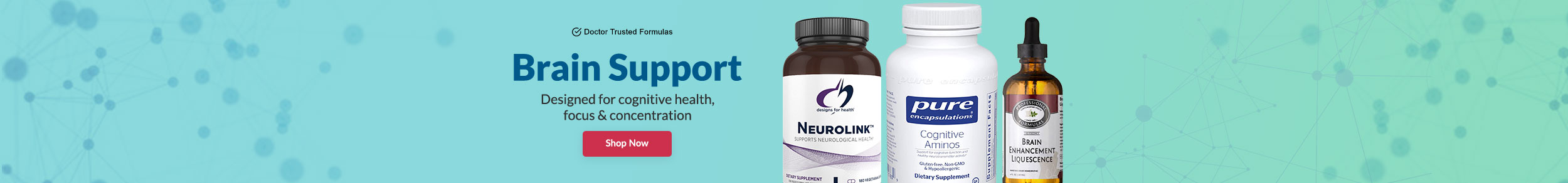 Brain Support - Designed for cognitive & mood health