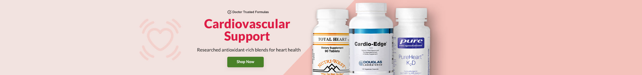 Cardiovascular Support - Researched blends for optimal heart health