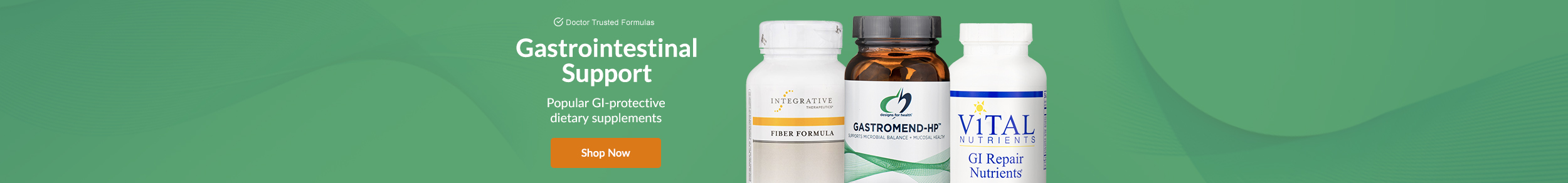 Gastrointestinal Support - Popular GI-protective dietary supplements