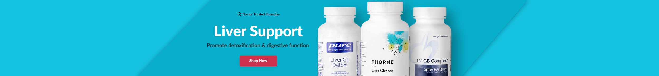 Liver Support - Promote detoxification & digestive function