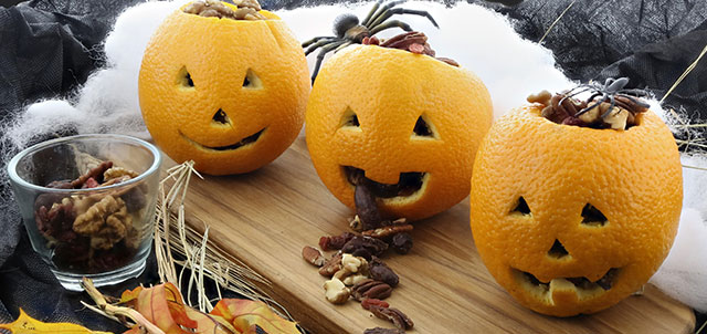 Orange Jack-o-Lantern View the Recipe