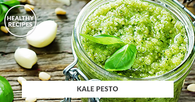 Healthy Recipes - Kale Pesto