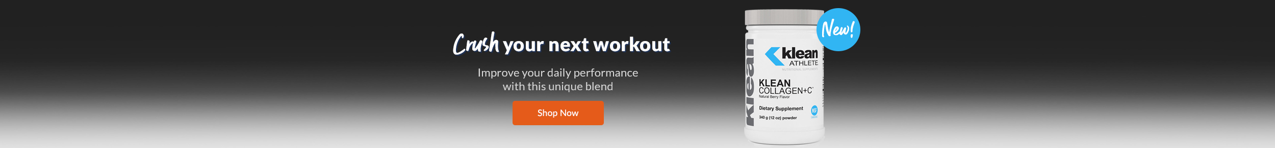 Crush your next workout - Improve your daily performance with this unique blend!