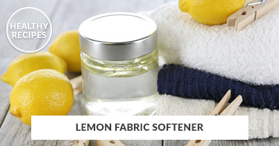 Healthy Recipes - Lemon Fabric Softener