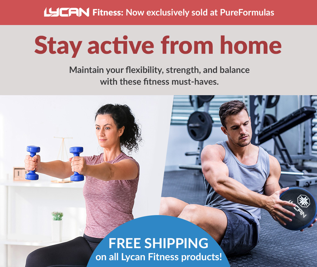 Stay active from home - Lycan Fitness Equipment - Free shipping