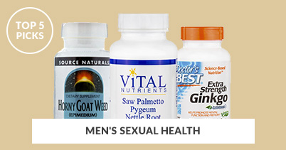 Top 5 Picks - Men's Sexual Health