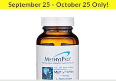 Methyl-Pro - Sept 25 - Oct 25