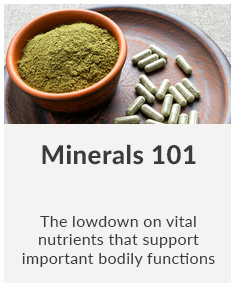 Minerals 101