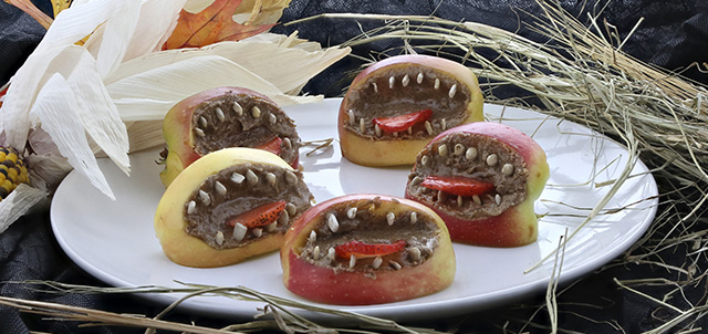 Apple Monster Mouths - View the Recipe