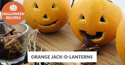 Halloween Recipe Favorites: Orange Jack O Lanterns
