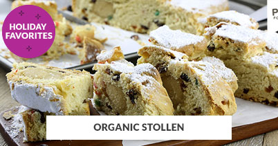 Holiday Recipe Favorites: Organic Stollen