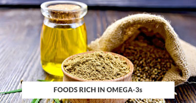 Foods Rich In Omega-3s