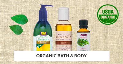 Organic Bath & Body Products