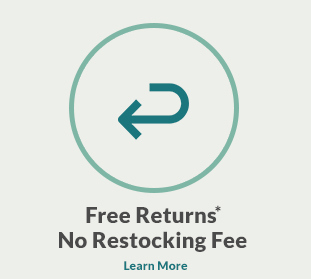 Free return, no restocking fee