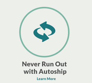 Never Run out with Autoship