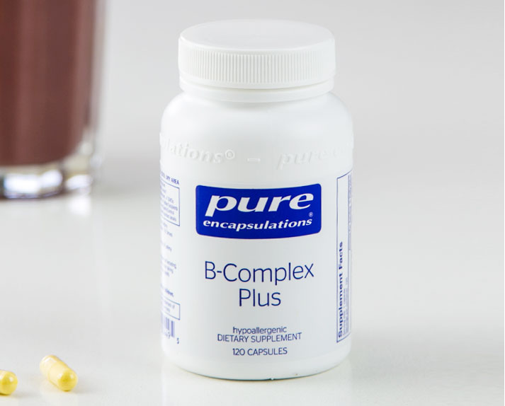 B-Complex Plus - 120 Capsules by Pure Encapsulations