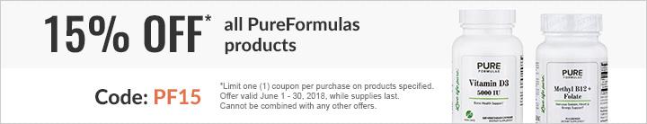 15% off PureFormulas