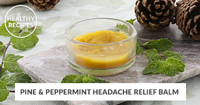 Healthy Recipes - Headache Relief Balm