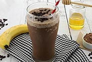 Paleo Chocolate Frosted Shake