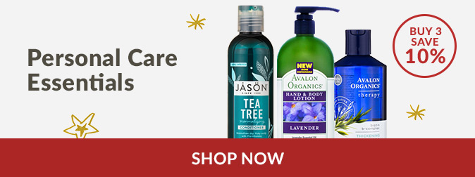 Personal Care Essentials - Buy 3 & Save 10%