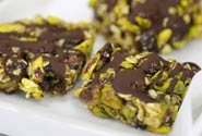 PISTACHIO, CHOCOLATE & BANANA BARS