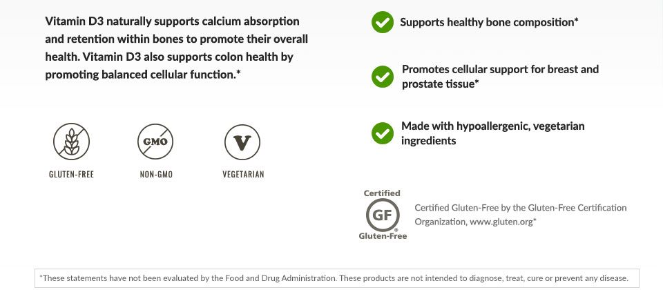 Supports calcium absorption and retention within bones to promote their overall health.