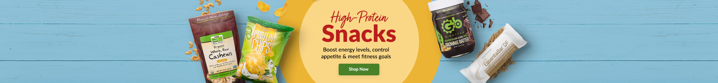 Protein Packed Snacks - Support lean muscle, bone, and skin health on the go