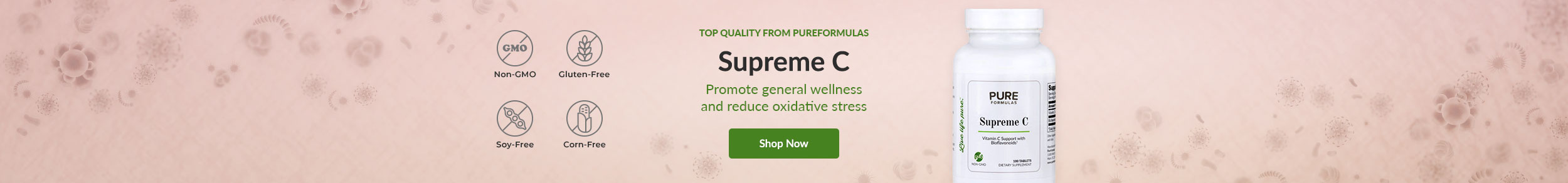 Top Quality from PureFormulas: Supreme C - Promote general wellness and reduce oxidative stress