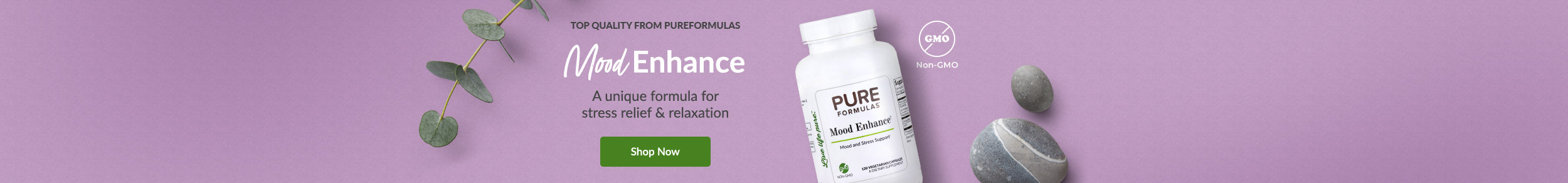 Top Quality from PureFormulas: Mood Enhance - Vitamin & mineral support blend for relaxation & stress relief