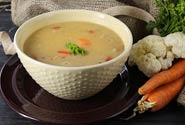 Quinoa And Cauliflower Soup