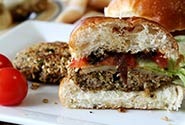 Mushroom Quinoa Sliders