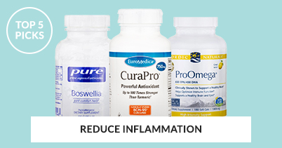 Top 5 Picks To Reduce Inflammation