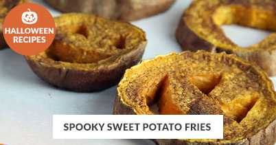 Halloween Recipe Favorites: Halloween Sweet Potato Fries