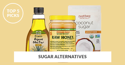 Top 5 Picks - Sugar Alternatives