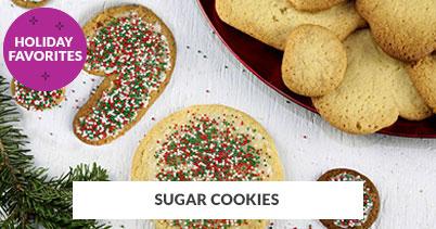 Holiday Recipe Favorites: Sugar Cookies