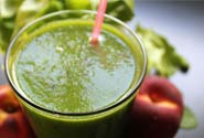 Tropically Fresh Green Protein Shake