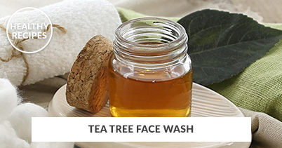 Healthy Recipes - Tea Tree Face Wash