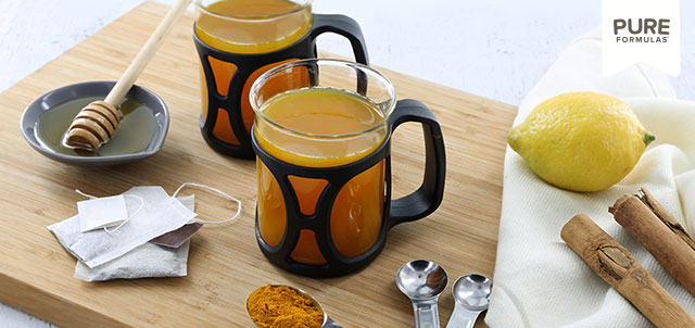 Turmeric Tea with a Twist