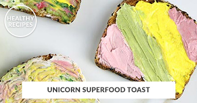 402x211 - Generic - Unicorn Superfood Toast Recipe - 070118