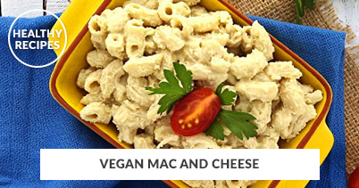 Healthy Recipes - Vegan Mac And Cheese